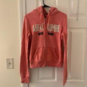 Abercrombie full zip sweatshirt